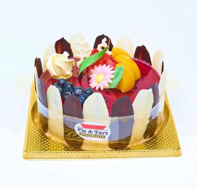 朱古力藍莓蛋糕