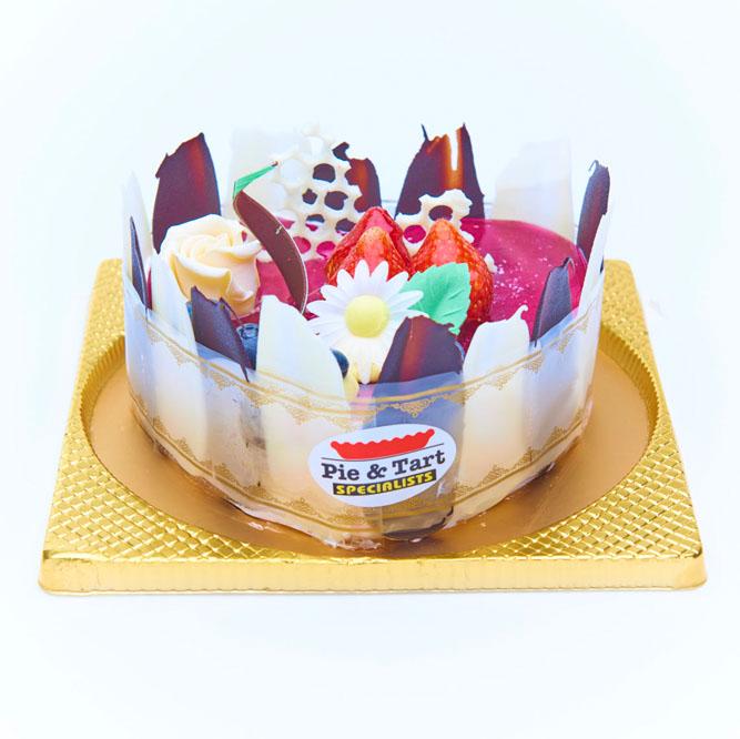 心型藍莓慕絲蛋糕
