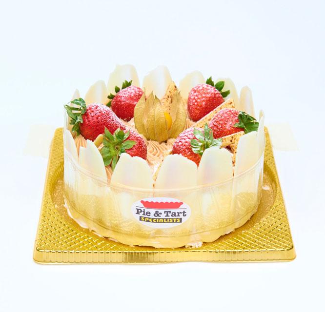栗子忌廉蛋糕