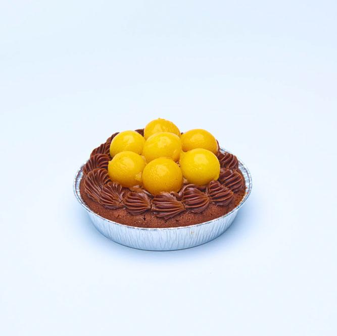 迷你芒果朱古力餅